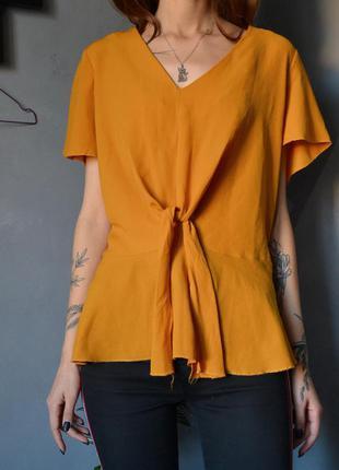Симпатичная блуза с узлом today