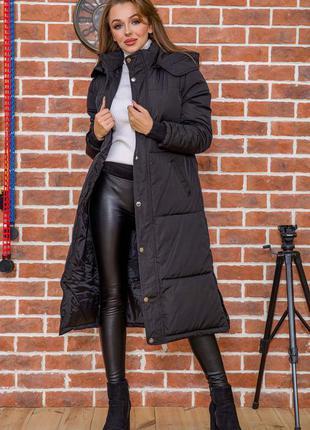 Мега стильное пальто стеганое , куртка удлинённая миди стильная