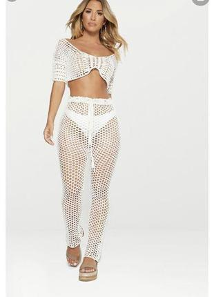 Срочная распродажа! пляжные масляные прозрачные брюки