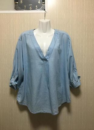 Натуральная блуза 50-52