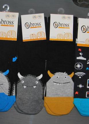 Демисезонные носки 5-7, 7-9, 9-11  лет bross монстр бросс