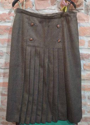 Винтажная юбка миди