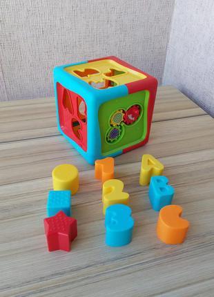 Розвиваючий куб сортер tesco