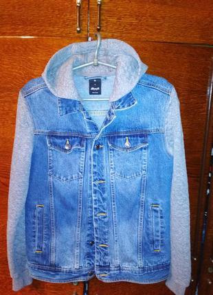 Джинсовый пиджак для модников