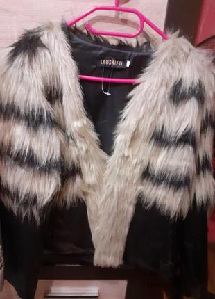 Куртка екокожа