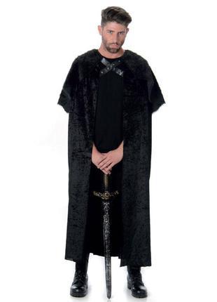 Накидка плащ на карнавал хеллоуин игра престолов джон сноу