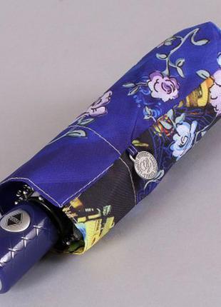 Зонт мини 21 см женский полный автомат lamberti цветочный закат в дрездене