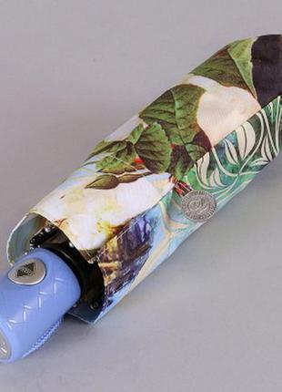Зонт мини женский полный автомат берлин в цветах