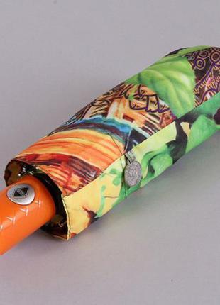 Зонт мини женский полный автомат вечерняя венеция в цветах