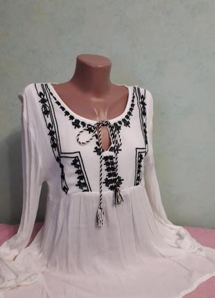Блуза  рубашка вышиванка