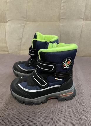 Ботинки сапожки зимние р.30 в идеальном состоянии