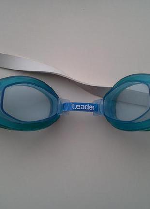 Очки для плавания leader