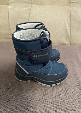 Ботинки зима р.28-29 (18,5см) в хорошем состоянии