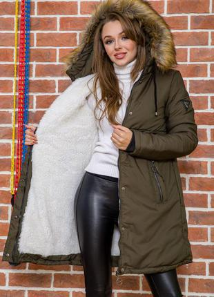 Куртка парка зимняя xs s m