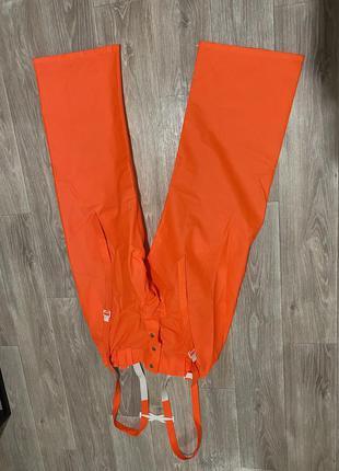 Гидро влагозащитные резиновые штаны. дождевые .