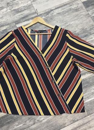 Красивая блузка в полоску ❤️❤️