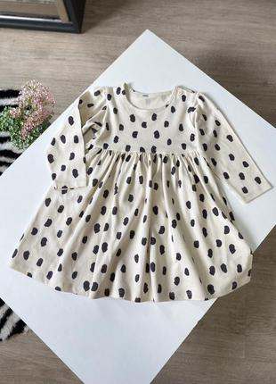 Повседневное платье для девочки 12-18 мес.