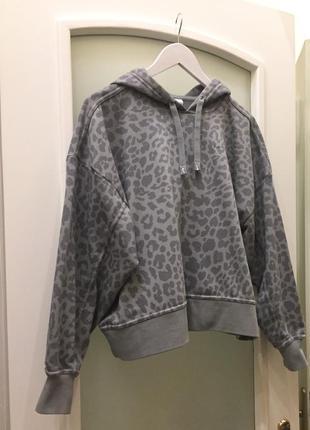 Нове з нової колекції.худі бренду nike  tonal leopard print hoodie оригінал