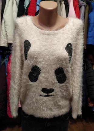 Свитер панда
