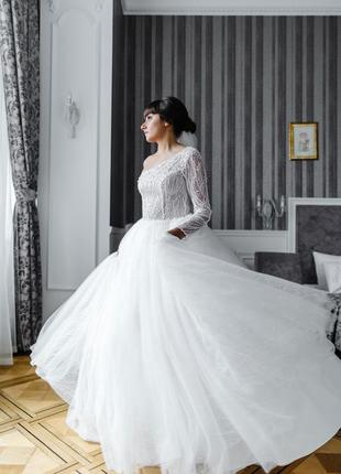 Весільна сукня /весільне плаття дизайнера luce sposa