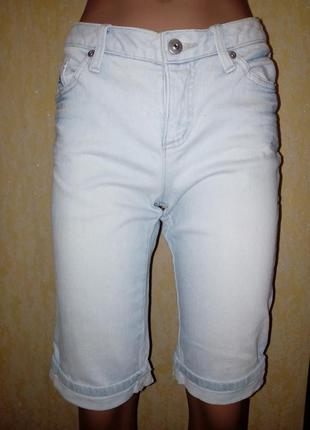 Джинсовые шорты,размер s