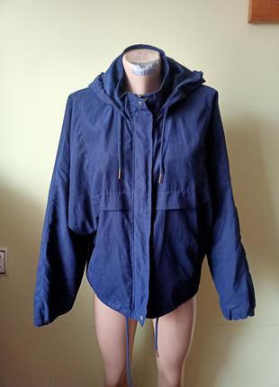 Ветровка оверсайз, куртка жіноча на весну осінь