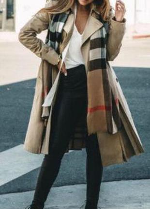 Тренч 2 в 1 пальто/плащ + плаття/безрукавка