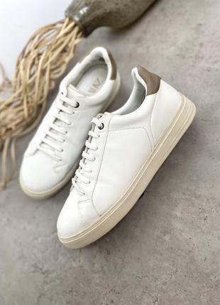 Белые кеды кроссовки zara стильные