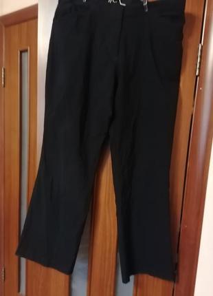 Большие стрейчевые брюки