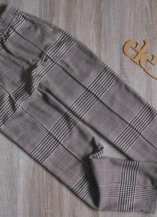 Теплые брюки на зиму h&m пояс резинка eur 38