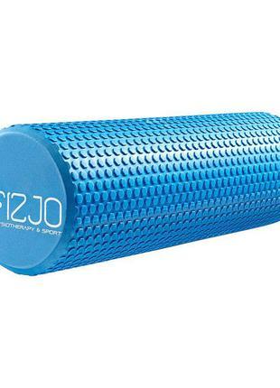 Массажный ролик, валик, роллер 4fizjo eva 45 x 15 см 4fj0119 blue