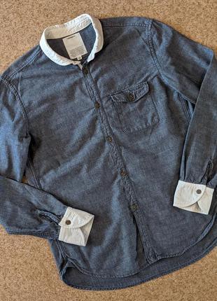 Рубашка японского бренда 02deriv.
