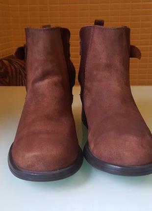 Замшевые ботинки camper