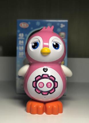 Пингвин интерактивная сенсорная обучающая игрушка