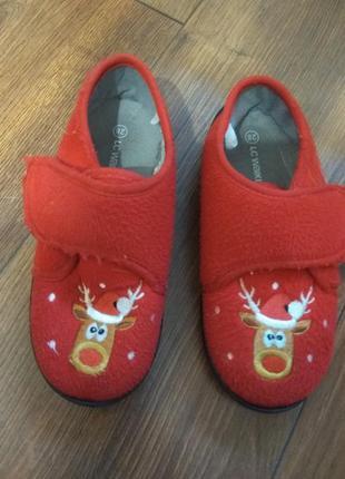 Тапочки дитячі різдвяні waikiki