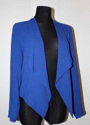 Пиджак блейзер без пуговиц