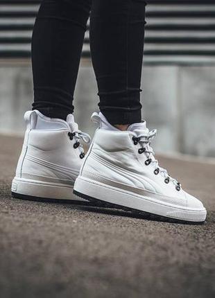 Новые женские зимние ботинки кроссовки puma the ren boot оригинал