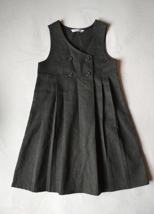 Школьная форма,  платье на девочку 5-6 лет