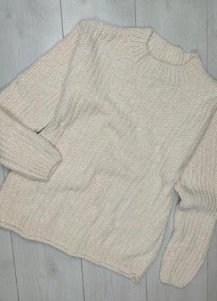 Плюшевый плотный, очень приятный свитер, свитерок, кофта