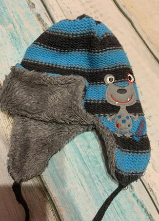 Стильная и тёплая зимняя шапка фирмы raster( польша), зимовий капелюх