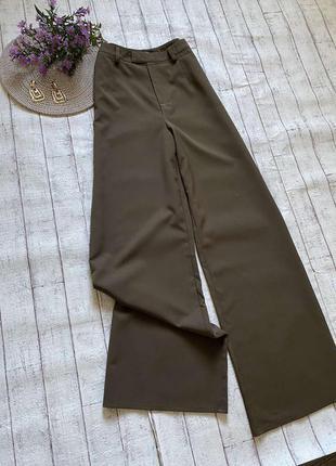 Шикарные брюки палаццо в осеннем цвете