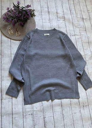 Тонкий базовый свитерок