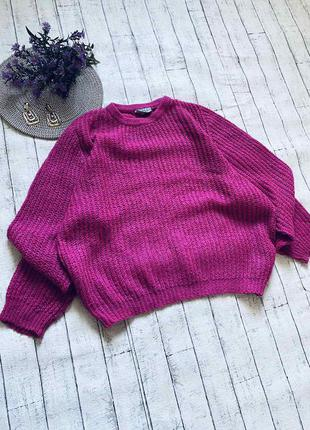 Шикарнейший овесайз свитер с мохером