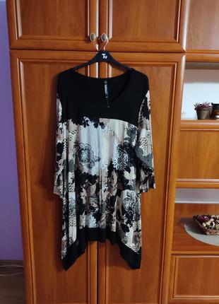 Платье -туника раз. 64-66