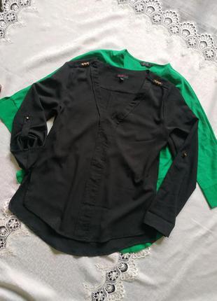 Блуза блузка свободного кроя