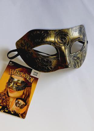 Красивая карнавальная маска, карнавал, хэллоуин, хеллоуин, halloween