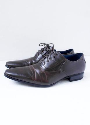 Стильные модные туфли enzo marconi. размер eur 41 (40-41).