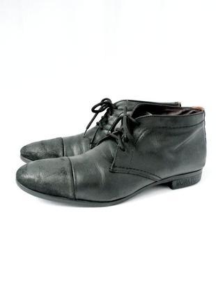 Стильные модные демисезонные ботинки antony moraton. размер 43.