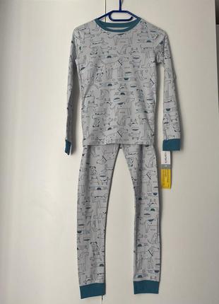 Новая детская пижама на мальчика-подростка 12-14 лет 100% хлопок