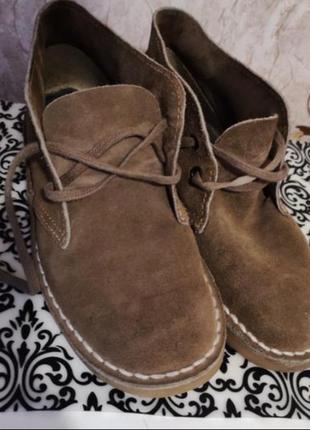 Ботинки натуральная замша.